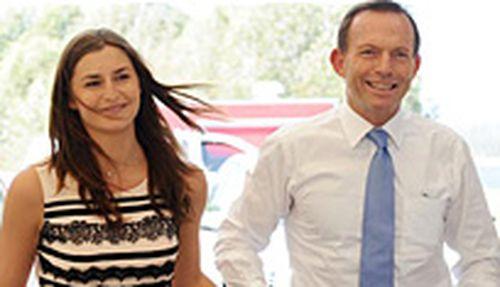 Frances and Tony Abbott. (AAP)