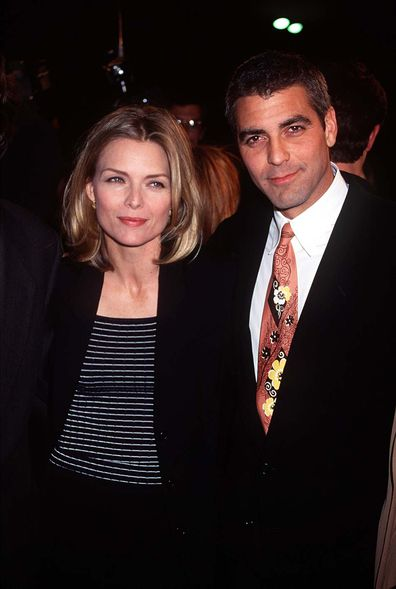 Michelle Pfeiffer, George Clooney