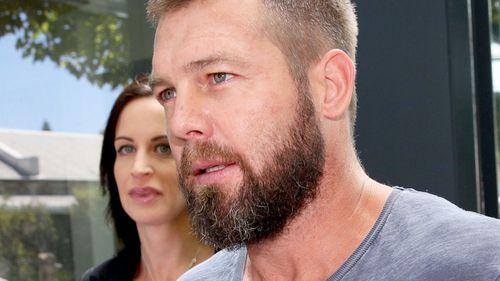 Ben Cousins was jailed in March on stalking and AVO charges. (AAP)