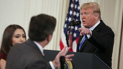White House ordered to return credentials to CNN reporter