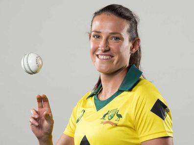 Megan Schutt Australian bowler for women's cricket team