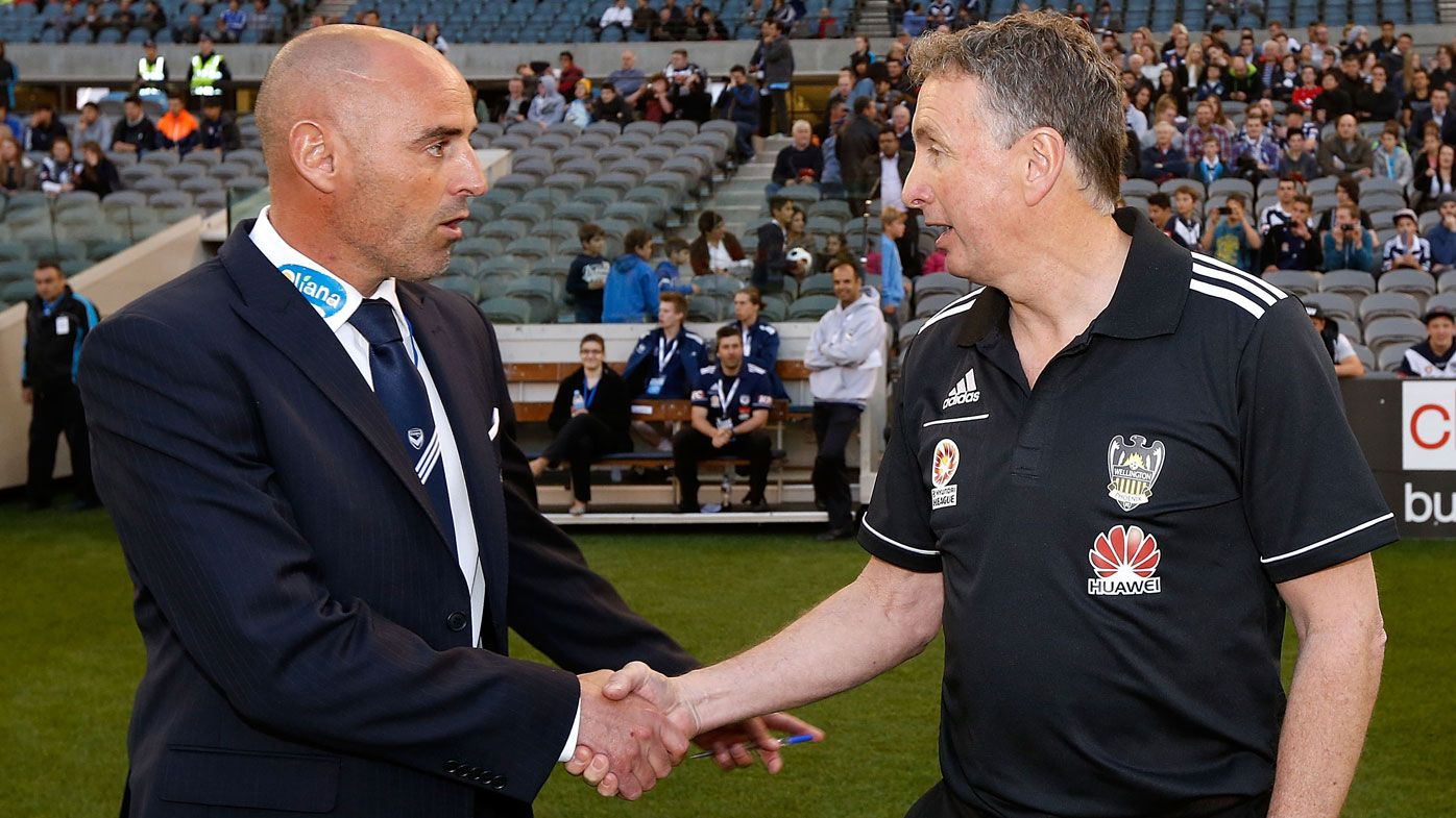 Melbourne Victory's Kevin Muscat expects a grand final 'arm wrestle' against Newcastle Jets