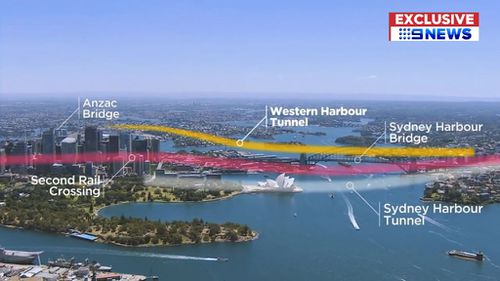 How the tunnel will link with other major road infrastructure