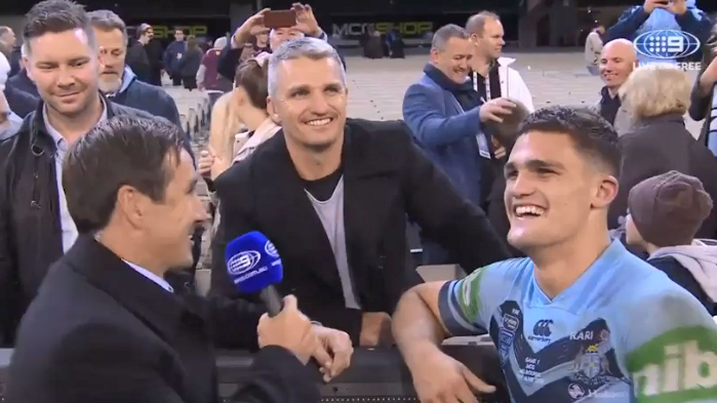 Ivan Cleary 'so proud' of son Nathan after victory in State of Origin opener