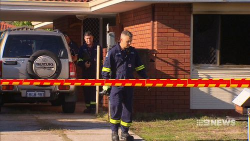 Both victims were found unresponsive in the hallway of the home. Picture: 9NEWS