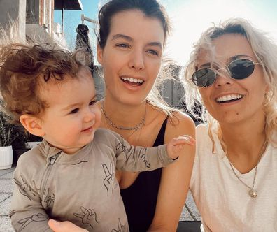 Moana Hope says she can't wait to have another child with her wife, Isabella Carlstrom