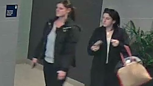 Police hunt two women after bag thieves use car keys to steal car from Frankston swimming pool carpark