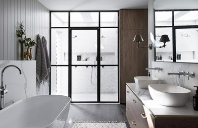 <strong>An ensuite with no doors</strong>