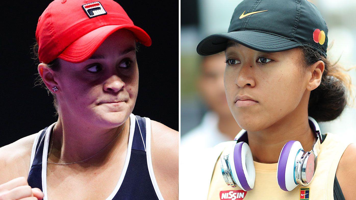 Ash barty and Naomia Osaka set for WTA finals clash