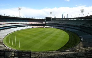 Coronavirus 'ghost towns': Melbourne's MCG silent on day which would have been the AFL grand final