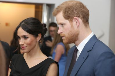 Meghan Markle at charity event with Prince Harry