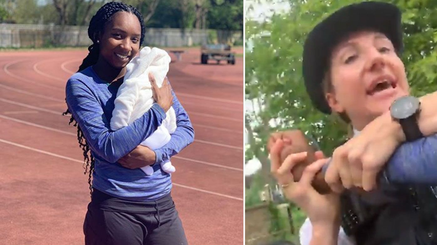 British sprinter Bianca Williams and her partner have accused London police of racial profiling