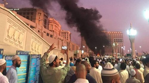 Muslim world condemns Saudi holy site bombing