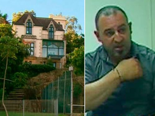 Tony Halloun murdered Shahnaz Qidwai in her Henley mansion. (Supplied)