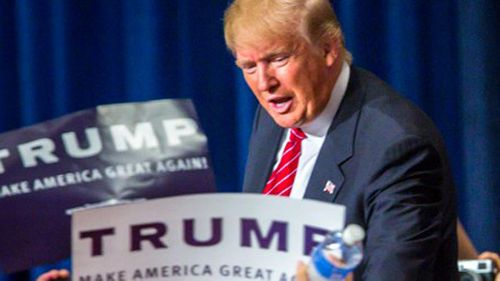 Donald Trump is seeking the Republican presidential nomination. (AAP)