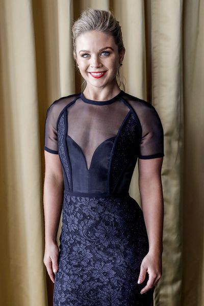 Emma Freedman - another who opted for elegance.