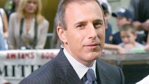 "Matt Lauer said he ""regrets his shame is shared with people he cherishes dearly."" (AAP)"