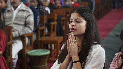 Christmas prayers in Jammu