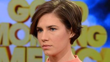 Amanda Knox on Good Morning America. (AAP)