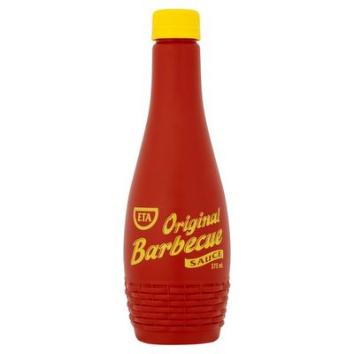 <strong>ETA Original BBQ sauce (46.4 grams of sugar per 100ml)</strong>
