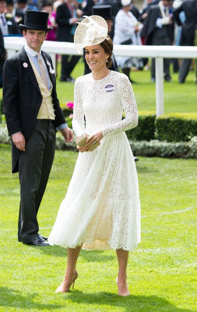 The Duchess of Cambridge at the Ascot Racecourse, April 2016