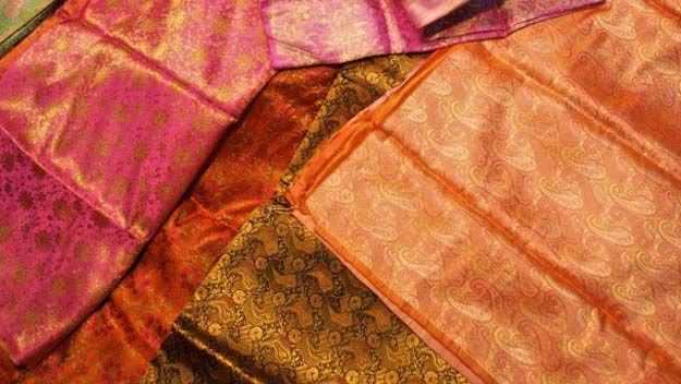 Sari cushions