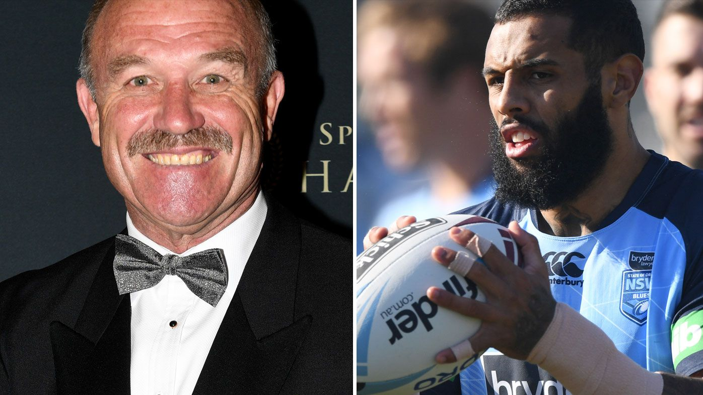 Wally Lewis and Josh Addo-Carr