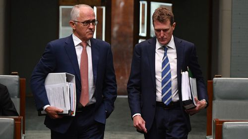Prime Minster Malcolm Turnbull and Attorney-General Christian Porter. (AAP)