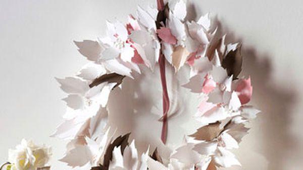 Leafy wreath
