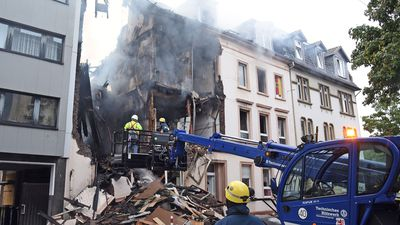At least 25 injured in building blast in Germany