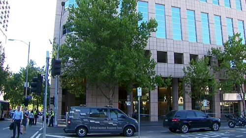 Police and firefighters called to incident at Melbourne ATO building