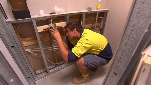 Jackson is a first-year apprentice plumber who started working at 14.