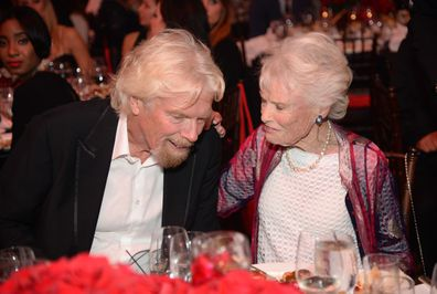 Eve Branson and Sir Richard Branson