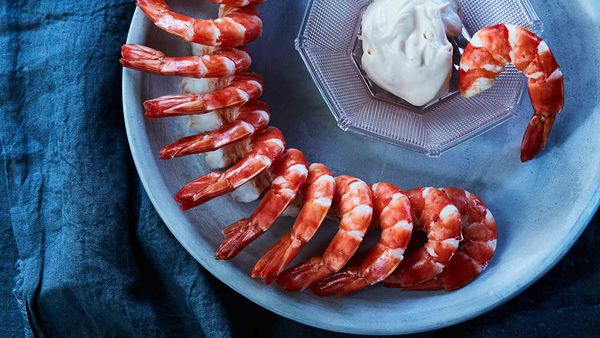 Mark Best's tiger prawns and mayonnaise recipe