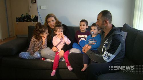 The south west Sydney family say they have been attacked in a case of mistaken identity. (9NEWS)