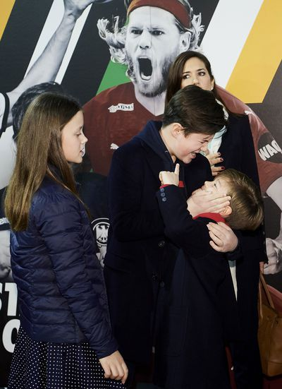 Prince Christian with his siblings, 2019