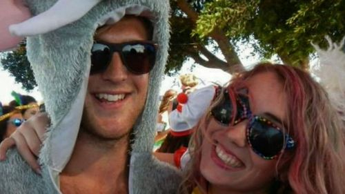 Chris Patrick (left) was killed in a workplace accident. His partner Christiana Paterson is now fighting for justice.