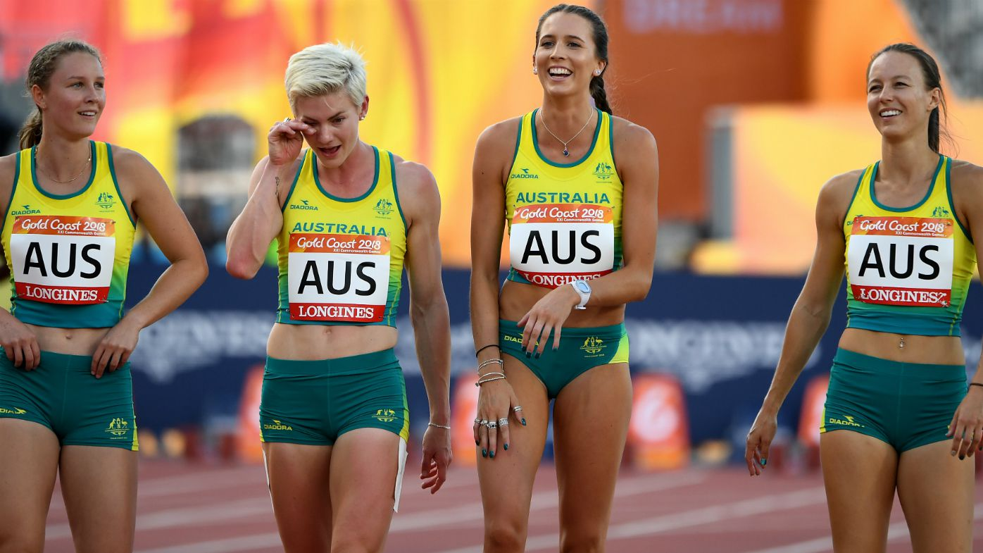 Australia's Women's 4 x 100m Relay team