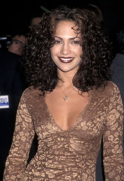 <p>Dark Burgundy Lips</p> <p>Muse- Jennifer Lopez pictured in 1997</p>