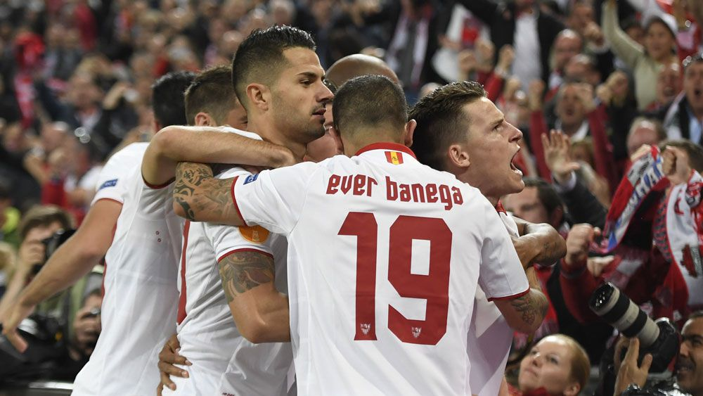 Liverpool beaten by Sevilla in Europa League final