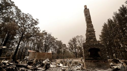 Authorities have warned of scammers and looters in the wake of the country's fires.