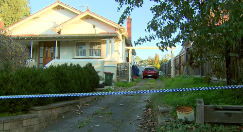 Police have cordoned off the scene. (9NEWS)