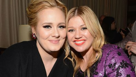Adele warns Kelly Clarkson of motherhood: 'Girl, don't have a baby'
