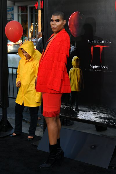 EJ Johnson at the premiere of IT, Hollywood.