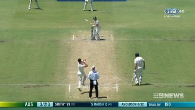 Mitchell Starc dismisses James Vince with 'Ball of the 21st Century'