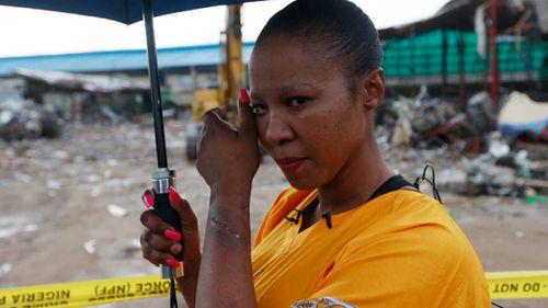 Survivor of Nigeria church collapse tells of days in darkness