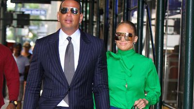 Jennifer Lopez and Alex Rodriguez rock matching '70s outfits