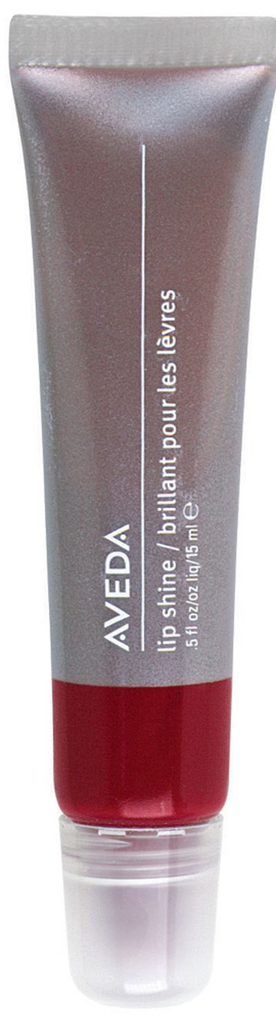 "<a href=""http://www.aveda.com.au/product/5336/17165/Makeup/Lips/Lip-Shine/index.tmpl"" target=""_blank"">Aveda Lip Shine in Thyme Bud, $29.95.</a>"