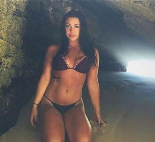 Melina Roberge, 24, has pleaded guilty for her role in smuggling 95kg of cocaine into Sydney. (Instagram)