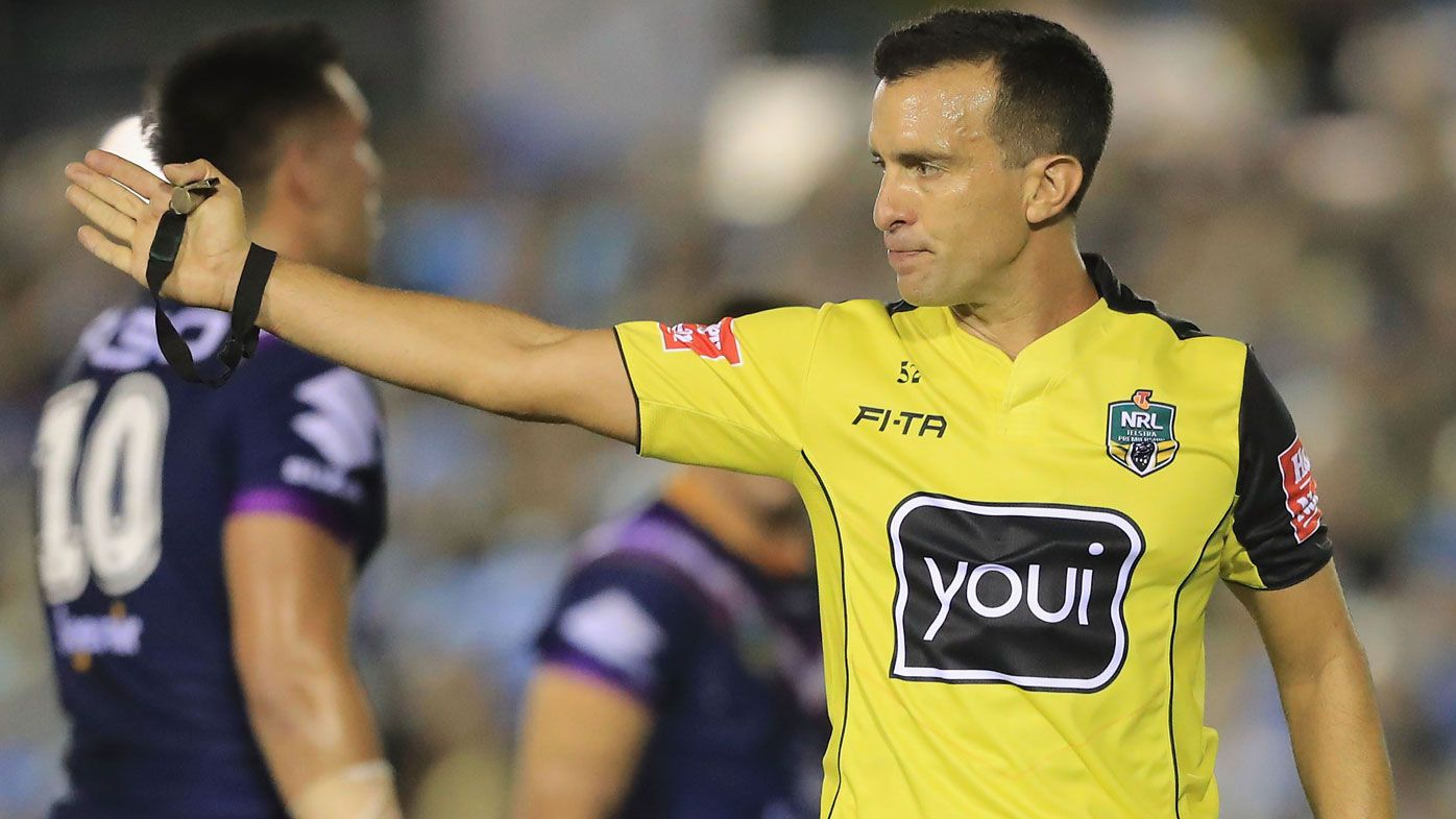 Veteran referee Matt Cecchin to return to NRL this weekend